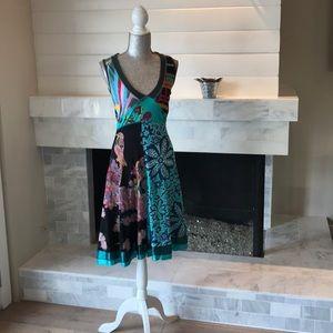 Tropical Boho Dress!  Like New!